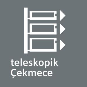 Siemens Buzdolabı Teleskopik Çekmece