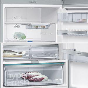 Siemens KG56NLB30N A++ 505 lt No-Frost Buzdolabı, A++ Buzdolabı, A++ Siemens Buzdolabı, siemens konya, konya siemens, KG56NLB30N Alttan Donduruculu Siemens Buzdolabı, Siemens beyaz eşya, beyaz eşya